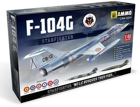 A.MIG F-104 G Starfighter 1:48
