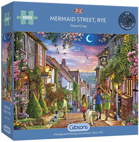 Gibsons Mermaid Street, Rye (1000)