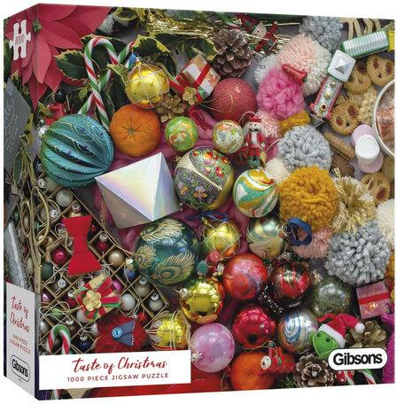 Gibsons Taste Of Christmas (1000)