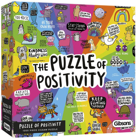 Gibsons Puzzle Of Positivity (1000)