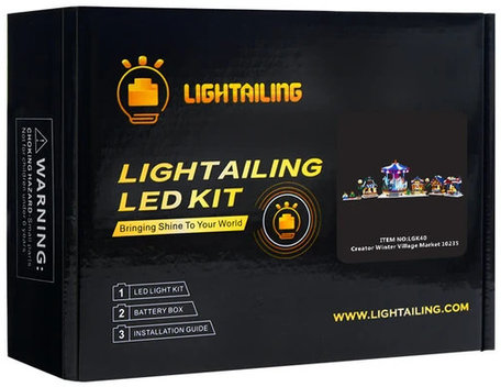 Verlichting voor LEGO 10235 Winter Dorpsmarkt