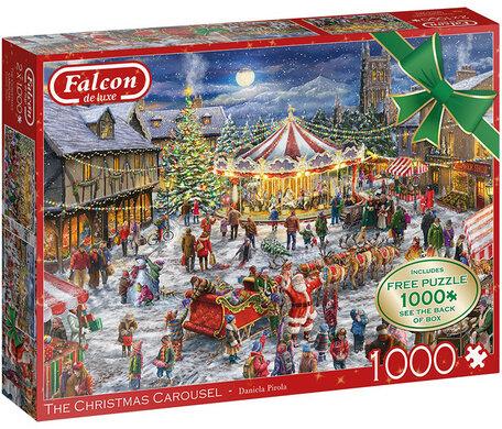Falcon The Christmas Carousel (2 x 1000)