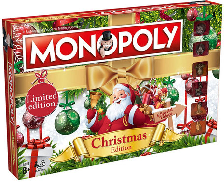 Monopoly Christmas Edition Limited