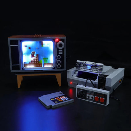 LEGO 71374 Nintendo Entertainment System + LED Verlichting