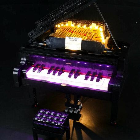 LEGO 21323 Vleugelpiano + LED Verlichting