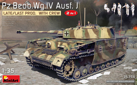MiniArt Pz.Beob.Wg.IV Ausf. J 1:35