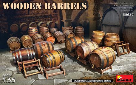 MiniArt Wooden Barrels 1:35