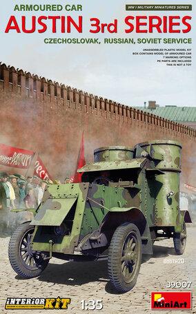 MiniArt Austin Armoured Car 1:35
