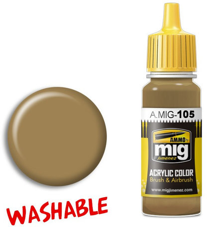 A.MIG 105: Washable Dust - Ral 8000