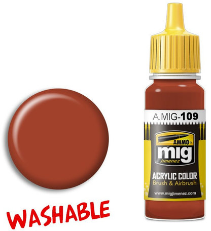 A.MIG 109: Washable Rust