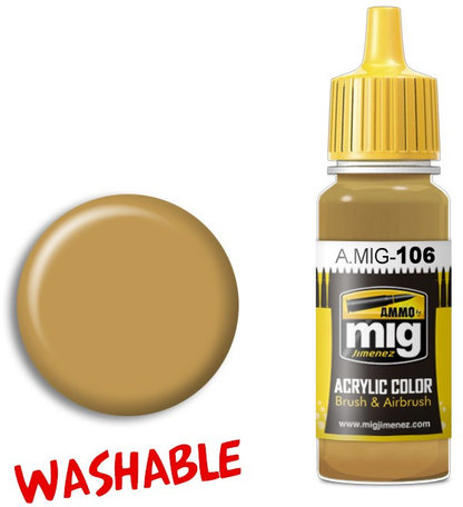 A.MIG 106: Washable Sand - Ral 8020