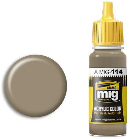 A.MIG 114: Zimmerit Ochre Color