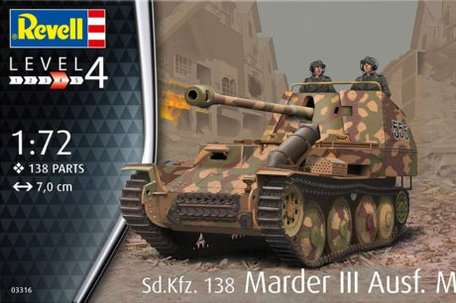 Revell Sd.Kfz. 138 Marder III Ausf. M 1:72