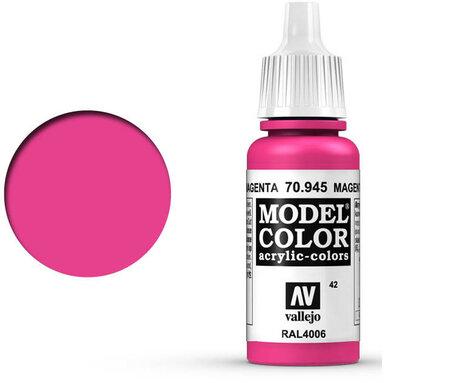 042. Vallejo Model Color: Magenta (70.945)