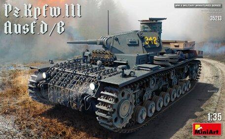 MiniArt Pz.Kpfw.III Ausf. D/B 1:35