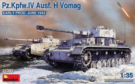 MiniArt Pz.Kpfw.IV Ausf. H Vomag 1:35