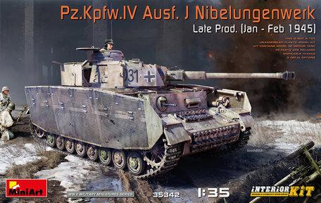 MiniArt Pz.Kpfw.IV Ausf. J Nibelungenwerk Late Prod. Interior 1:35