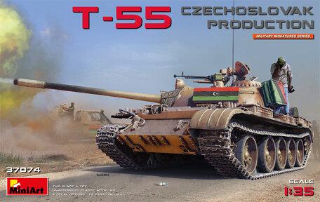 MiniArt T-55 Czechoslovak Production 1:35