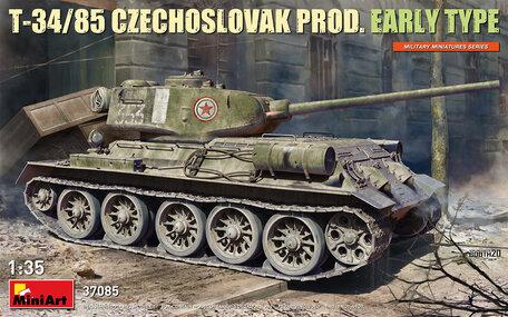 MiniArt T-34/85 Czechoslovak Prod. Early Type 1:35