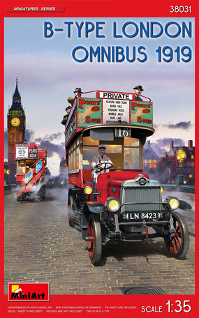 MiniArt B-Type London Omnibus 1919 1:35