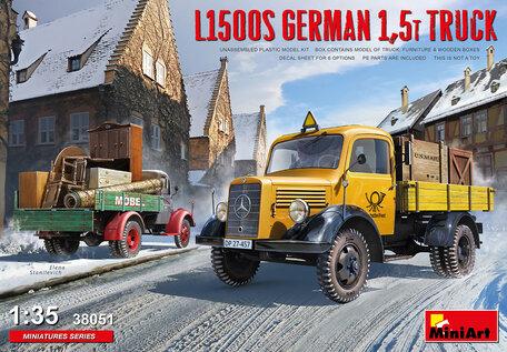 MiniArt L1500S German 1,5t Truck 1:35
