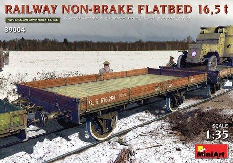MiniArt Railway Non-Brake Flatbed 16,5 T 1:35