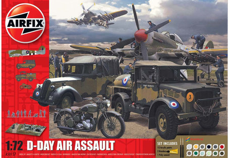 Airfix 75th Anniversay D-Day Air Assault Set 1:72