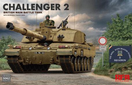 RFM Challenger 2 British Main Battle Tank 1:35