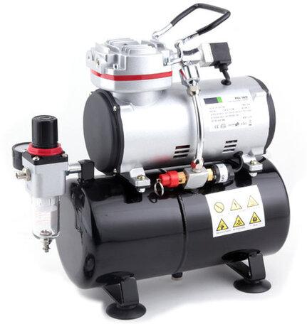 Airbrush Compressor met Luchttank
