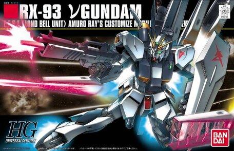 HG 1/144: RX-93 ν ( Nu ) Gundam