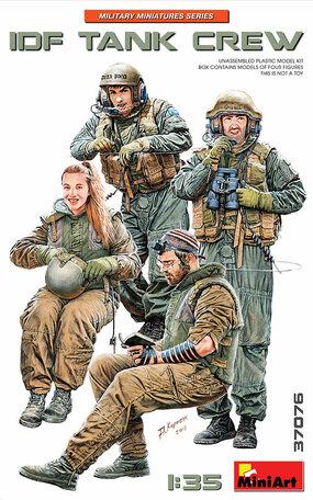 MiniArt IDF Tank Crew 1:35