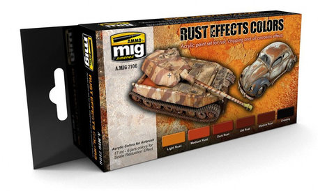 AMMO Paint Set: Rust Effects Colors