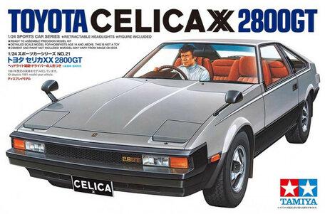 Tamiya Toyota Celica XX 2800 GT 1:24
