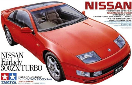 Tamiya Nissan 300 ZX Turbo 1:24