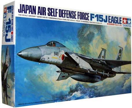 Tamiya Japan Air Self Defense Force F-15J Eagle 1:48