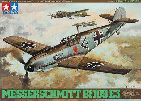 Tamiya Messerschmitt Bf 109 E-3 1:48
