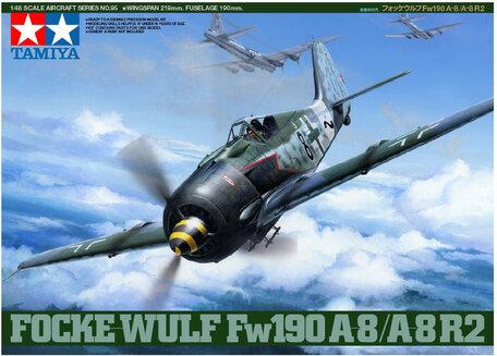 Tamiya Focke-Wulf Fw190 A-8/A-8 R2 1:48