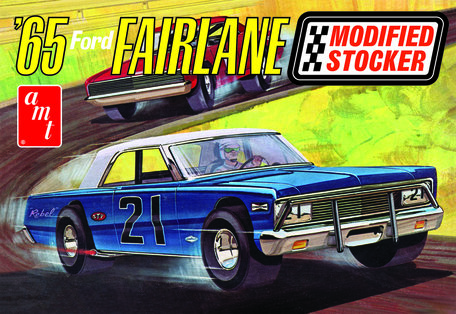 AMT Ford Fairlane Modified Stocker 1965 1:25