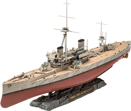 Revell HMS Dreadnought 1:350