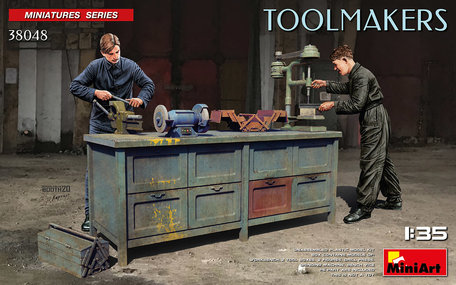 MiniArt Toolmakers 1:35