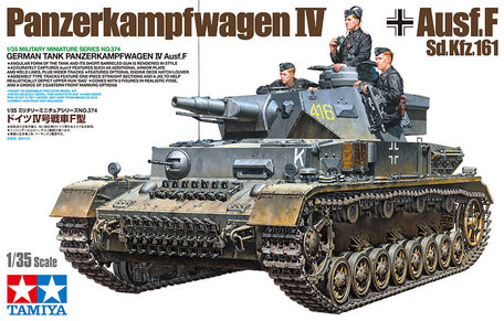 Tamiya German Tank Panzerkampfwagen IV Ausf.F 1:35