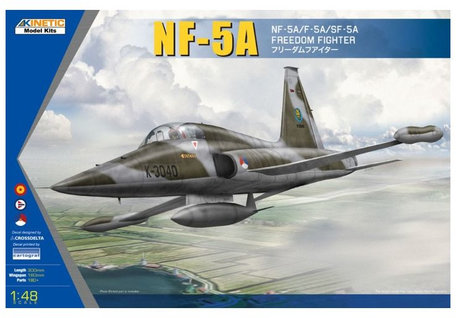 Kinetic NF-5A Freedom Fighter 1:48