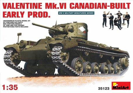 MiniArt Valentine Mk. VI Canadian Built Early Prod 1:35