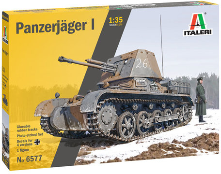 Italeri Panzerjäger I 1:35