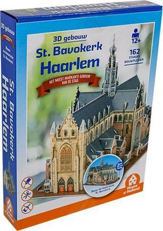 3D Gebouw St Bavokerk Haarlem