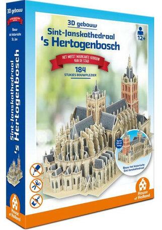 3D Gebouw St Jan Den Bosch