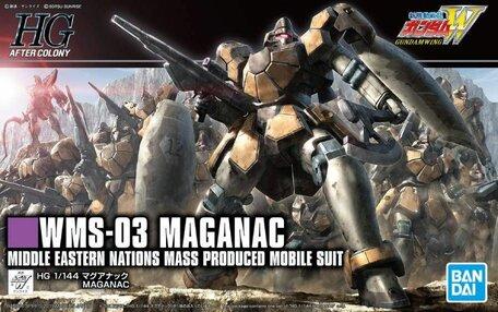 HG 1/144: WMS-03 Maganac