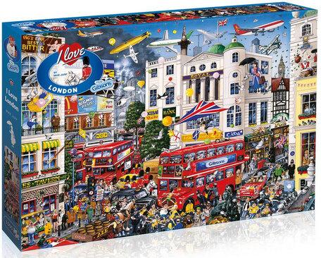 Gibsons I Love London (1000)