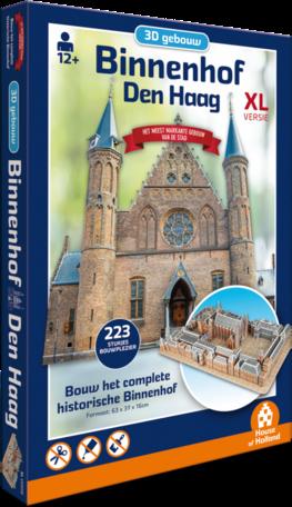 3D Gebouw Binnenhof Den Haag