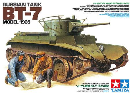 Tamiya Russian Tank BT-7 Model 1935 1:35